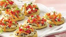 Garden Pizza Bites Recipe