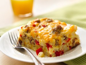Gluten&#32;Free&#32;Impossibly&#32;Easy&#32;Breakfast&#32;Bake