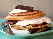 S'mores Stacker Pancakes