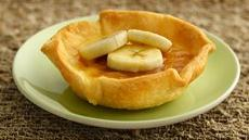 White Chocolate-Banana Crme Brle Tarts Recipe