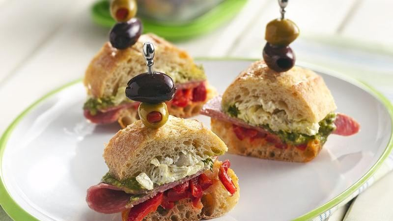 Muffuletta Slices