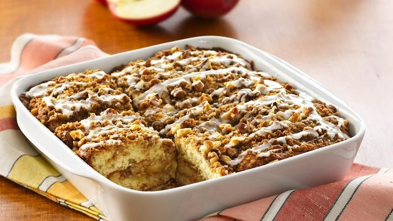 Apple Crisp Coffee Cake Recipe