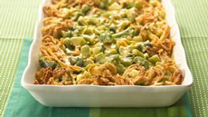 Broccoli Three Cheese Bake Recipe