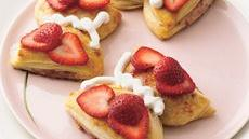 Strawberry-Orange Butterfly Biscuits Recipe