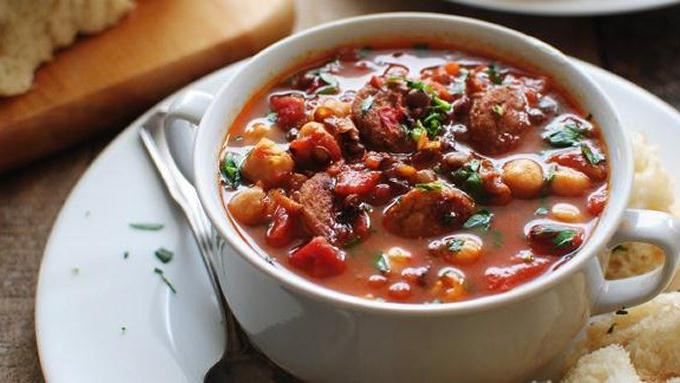Chicken Sausage and Lentil Soup recipe - from Tablespoon!