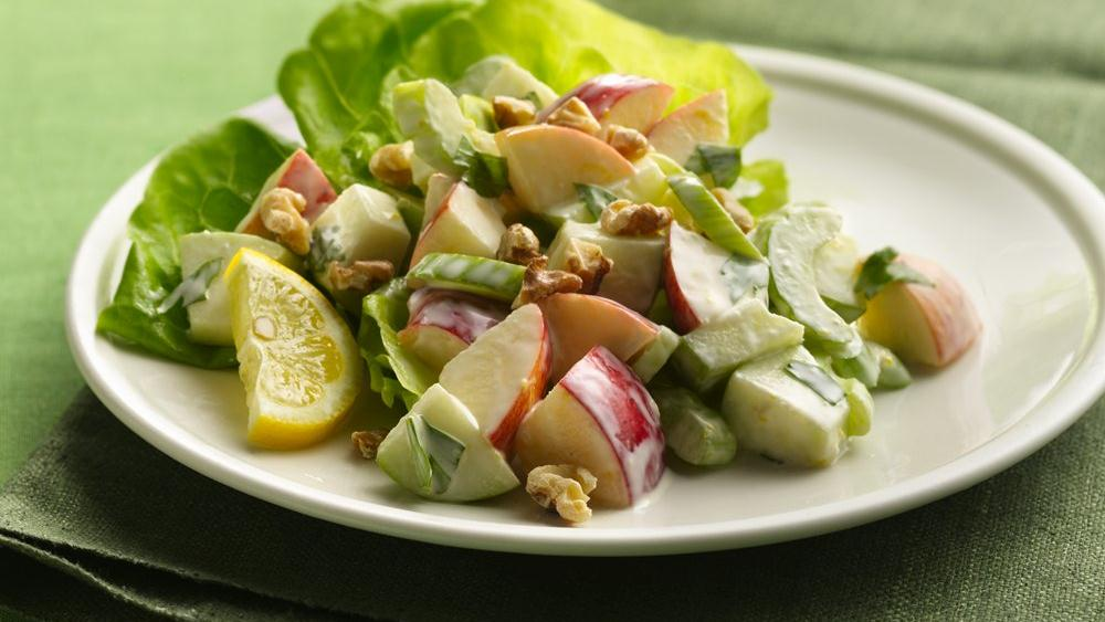 Apple and Celery Salad with Crea
