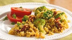 Italian Broccoli and Quinoa Pilaf
