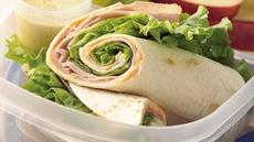 Turkey Tortilla Roll-Ups with Dip Recipe