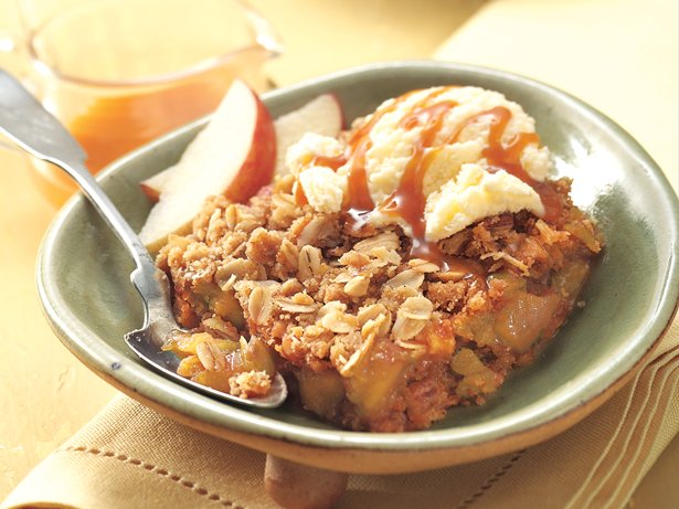 Caramel Apple Squares