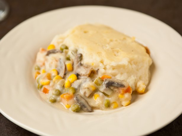 Roasted Garlic Shepherd's Pie