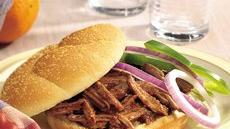 Slow Cooker Root Beer Barbecue Beef Sandwiches Recipe