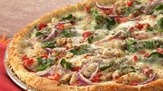 Chicken Pizza Primavera Recipe