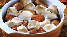 Marshmallow-Topped Sweet Potatoes Recipe