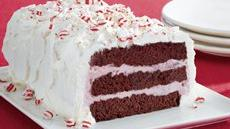 Peppermint Ice Cream Cakes Recipe
