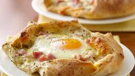 Breakfast Crostatas Recipe