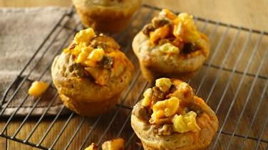 Cheesy Egg Breakfast Cups