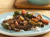 Slow Cooker Teriyaki Beef and Vegetables