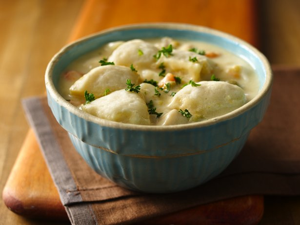 Easiest Ever Chicken and Dumplings