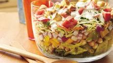 Layered Ranch Salad Recipe