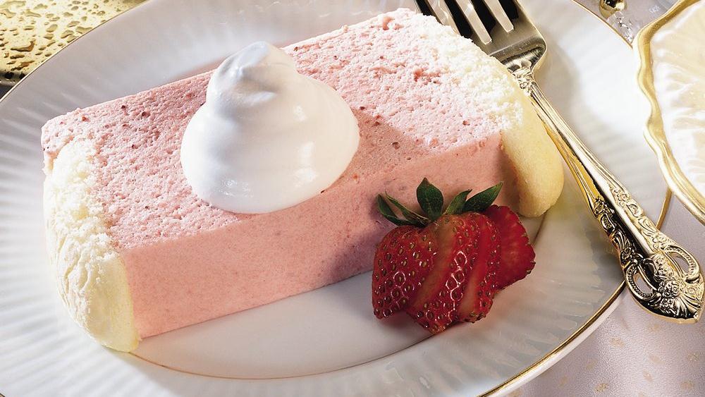 Strawberry Bavarian Loaf