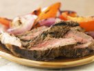 Healthified Cilantro Orange Marinated Flank Steak