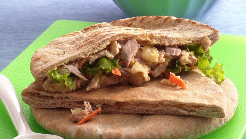 Tuna Pita Sandwiches