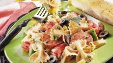 Italian Pasta Salad with Tomato Mayonnaise Recipe