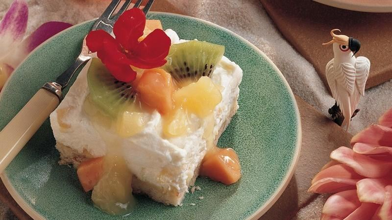 Creamy Tropical Dessert