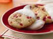 White Chocolate-Dipped Cherry Thins