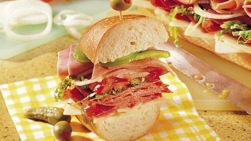 Party Sandwich Loaf recipe from Betty Crocker
