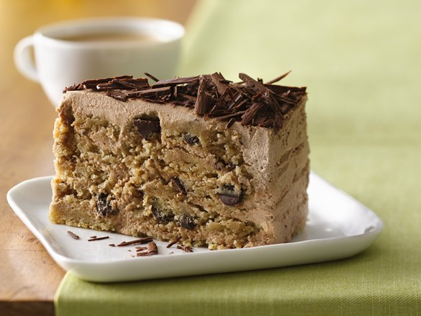 Gluten Free Chocolate Chocolate Chip Ice Box Cake