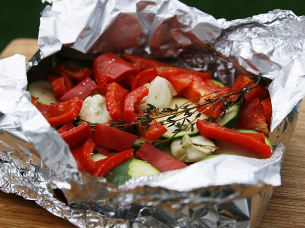 Butter-Herb Grilled Summer Veggie Packet