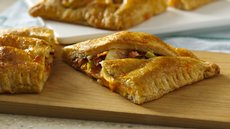 Sweet and Spicy Bacon Turkey Crescent Squares Recipe