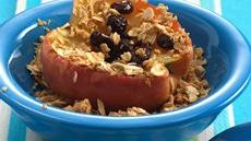 Baked Apples with Granola Recipe