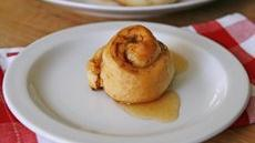 Cider-Glazed Apple Cinnamon Rolls Recipe