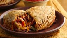 Chicken Sausage Veggie Calzones Recipe