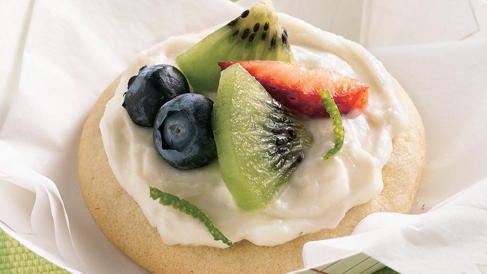 Mini Fruit Pizzas recipe from Pillsbury.com