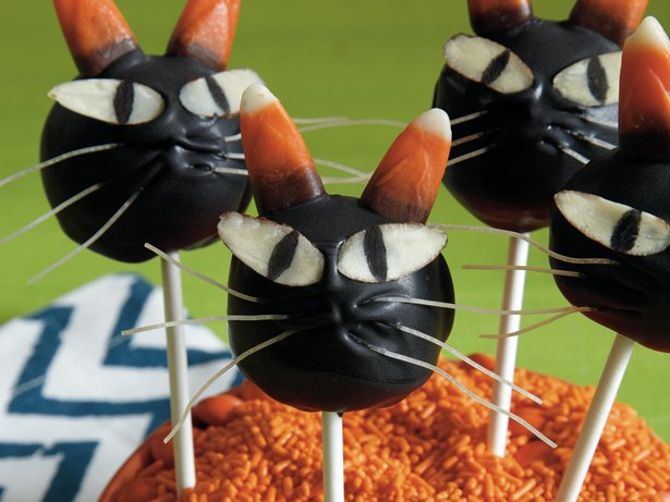 Scaredy Cat Cake Pops