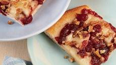 Brie and Cranberry Pizza Recipe