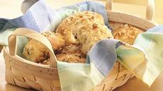Cheese-Filled Parmesan Biscuit Loaves Recipe