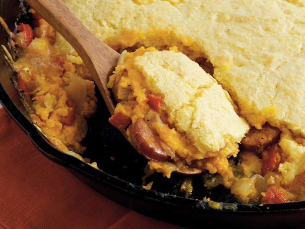 Monster Meat Cornbread Bake