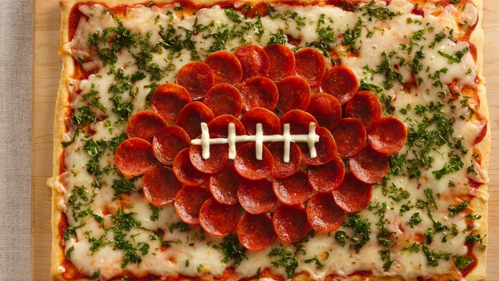 Football Pizza