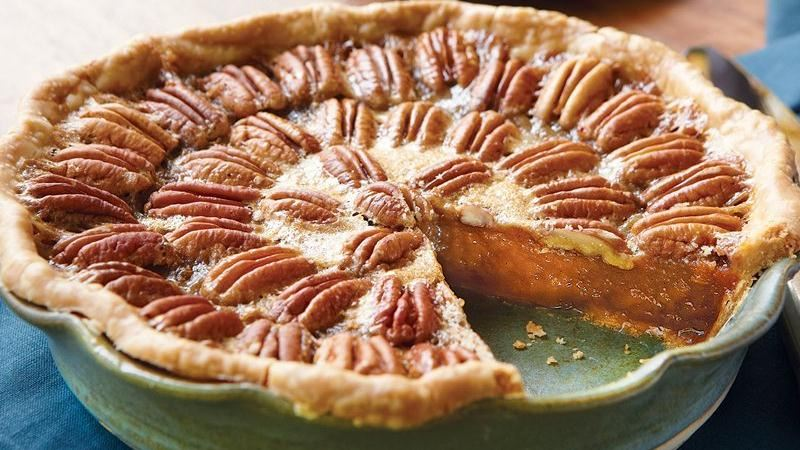 Browned Butter Pecan Pie recipe from Betty Crocker