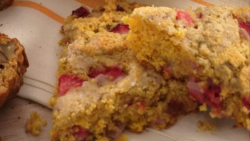Cornmeal-Berry Scones