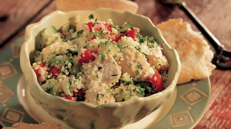 Chicken Tabbouleh Salad