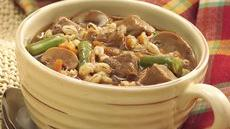 Slow Cooker Hearty Beef and Barley Stew Recipe