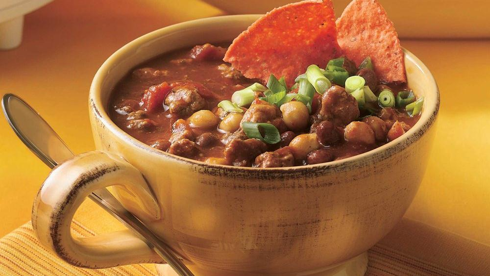 Slow-Cooker Spicy Chili