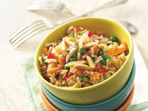 Slow&#32;Cooker&#32;Spring&#32;Rice&#32;Pilaf