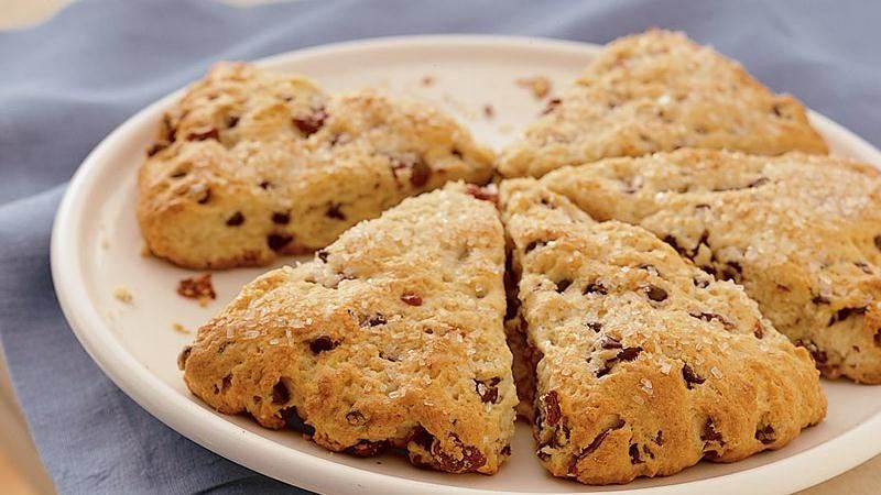 Bisquick® Cherry-Chocolate Chip Scones