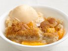 Healthified Peach Cobbler
